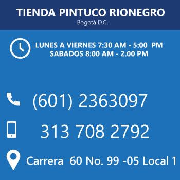 Tienda pintuco Rionegro